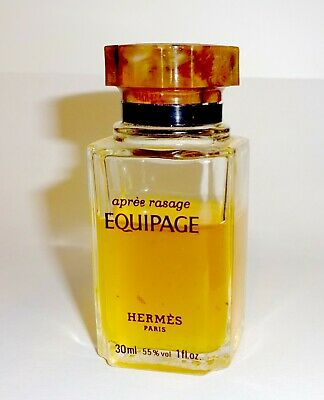 $16.95 • Buy Vintage Hermes Equipage 1 Oz Men's Aftershave Splash Rare EDT Pre-Owned