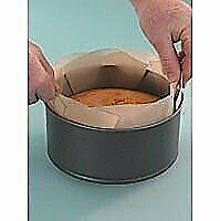 Toastabags Pk2 Reusable Non Stick Lift Out Cake Tin Liners Fits 7 8 & 9  Tins • 5.35£