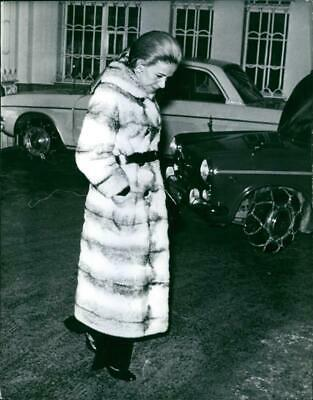 $ CDN15.75 • Buy Vintage Photograph Of Athina Livanos Walking Alone And Smiling
