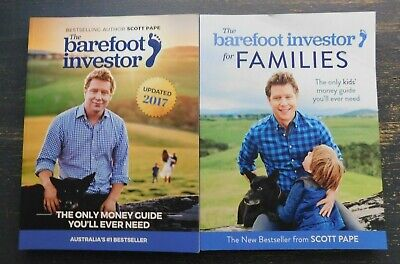 AU36.99 • Buy The Barefoot Investor And The Barefoot Investor For Families / Scott Pape