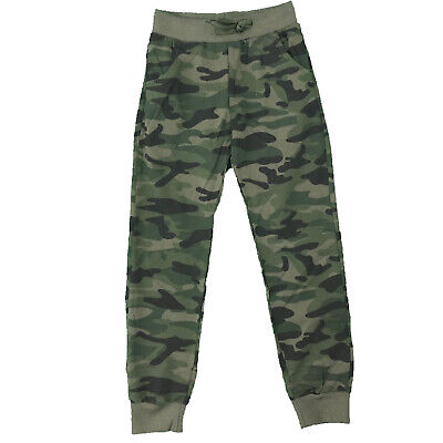 £6.99 • Buy Boys Kids Camo Camouflage Jogging Sports Tracksuit Bottoms Joggers Army