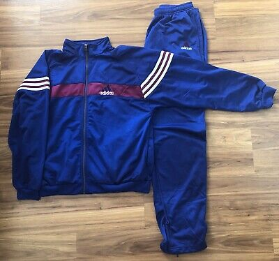 $89.99 • Buy Vintage Adidas Womens Track Suit Jump Blue Pink Purple XL Size 12-14