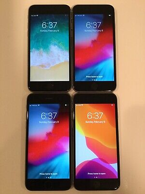 $ CDN424.21 • Buy LOT OF FOUR TESTED CDMA + GSM UNLOCKED AT&T APPLE IPhone 6S 32GB PHONES A160J