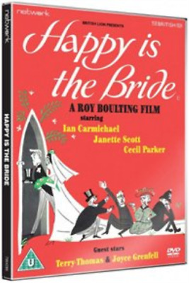 Ian Carmichael,  Terry-Thomas-Happy Is The Bride DVD NEW • 7.94£