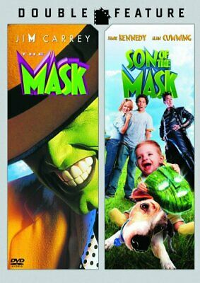 $10.32 • Buy THE MASK + SON OF THE MASK New Sealed DVD Double Feature Jim Carrey