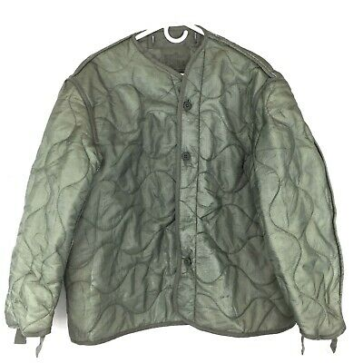 $27.99 • Buy Military Coat Liner, M65 Quilted Foliage Green Cold Weather Field Jacket Liner