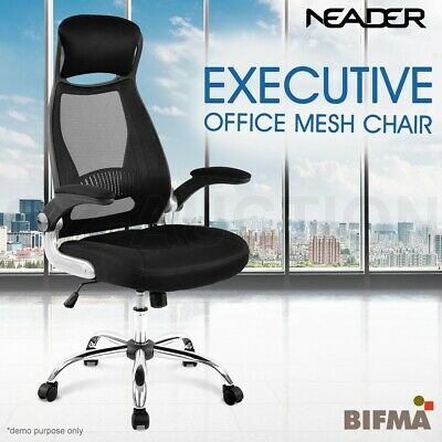 AU149.95 • Buy Ergonomic Mesh Office Chair High Back Executive Computer Desk Work Seat