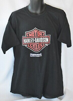 $ CDN22.50 • Buy Vintage HARLEY DAVIDSON Motorcycles T-SHIRT Xxl SAMANA DR Large GRAPHIC