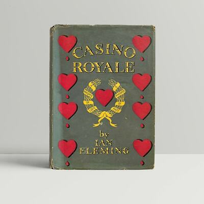 Ian Fleming – Casino Royale – First UK Edition 1953 – Cape – 1st James Bond  • 36,000£