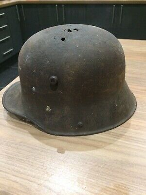 WW1 German Steel Helmet In Very Good Relic Condition • 40£