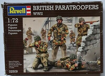 Revell Wwii British Paratroopers 1:72 & Ho/oo Scale Complete Bnib • 1.40£