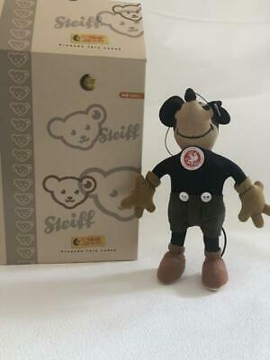 $454.13 • Buy Steiff Limited Mickey Mouse Plush Doll Stuffed 17cm Japan White Tag 2007 6.7