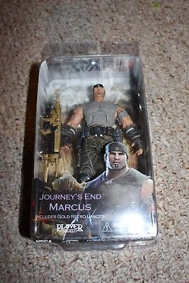 $30.99 • Buy Gears Of War 3 Journey's End Marcus W/ Gold Retro Lancer Figure NEW 178
