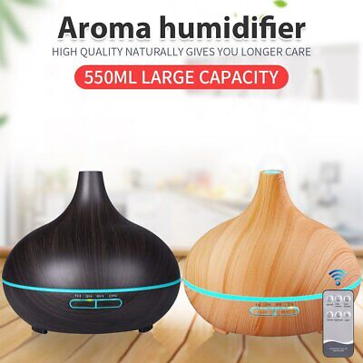 AU29.99 • Buy Aroma Aromatherapy Diffuser LED Essential Oil Ultrasonic Air Humidifier Purifier