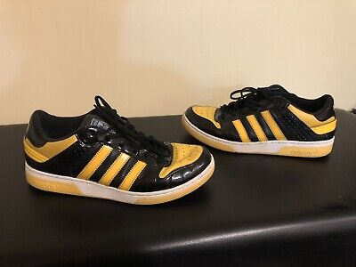 $ CDN100 • Buy Vintage Adidas Black & Yellow Mens Superstar - Size 8 (2006) Very Rare!