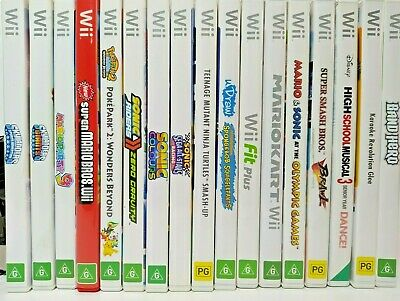 AU34.99 • Buy Wii/Wii U Nintendo Games Ultimate Selection FREE POSTAGE *ALL Working* Complete