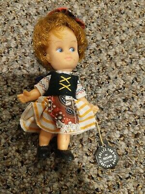 Vintage Rexard Collectors  Costume Doll With Original Tag! • 33.17£