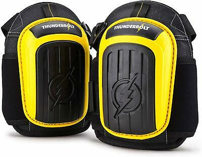Knee Pads For Work By Thunderbolt With Heavy Duty Gel Cushion Perfect For And • 25.20£
