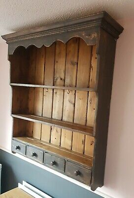 Beautiful Vintage Pine Dresser Top Painted Annie Sloan Shabby Chic  • 49.99£