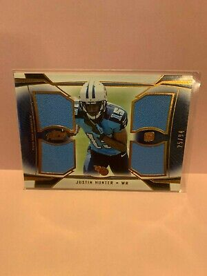 $3.95 • Buy A353 - 2013 Topps Prime Quad Relics Copper #QRJH Justin Hunter/94