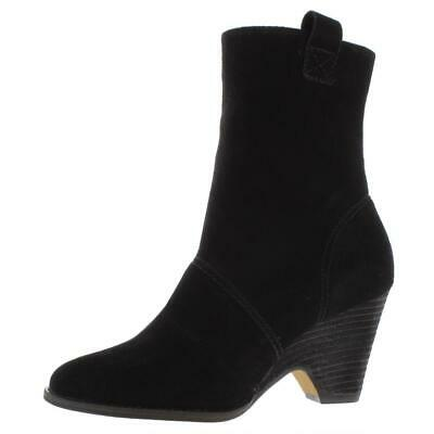 $ CDN34.52 • Buy Kelsi Dagger Womens Black Suede Western Booties Shoes 8 Medium (B,M) BHFO 0839