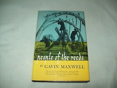 People Of The Reeds By Gavin Maxwell  1957  HC/DJ Book   • 29.09£