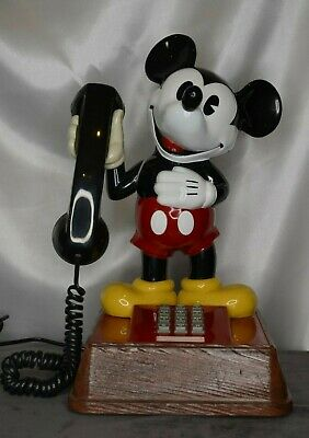 £32.51 • Buy Vintage American Telecommunications Corp Mickey Mouse Phone 1976 Touch Tone