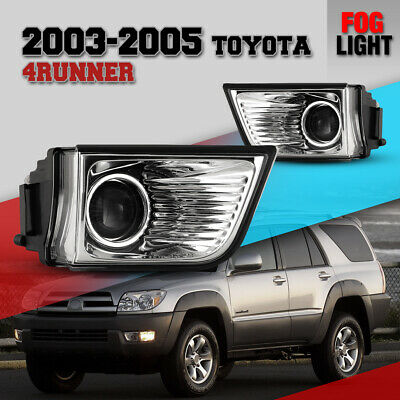 $38.35 • Buy Fog Light For 03-05 Toyota 4Runner Clear Lens Projector Driving Lamp Replacement