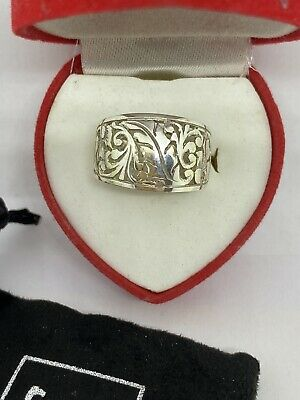 Solid Silver 925 Ladies Ring UK Handmade All Size Available+ Gift Box • 28.59£