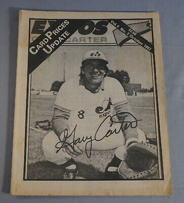 $1 • Buy 1982 Cpu Card Prices Update Baseball Card Magazine - Gary Carter Expos