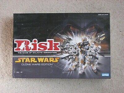 $15 • Buy Star Wars Risk Clone Wars Edition Complete In Box Parker Brothers Hasbro 2005