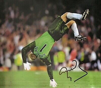 PETER SCHMEICHEL SIGNED 16x20 MANCHESTER UNITED FOOTBALL PHOTO 1999 COA & PROOF • 79.99£