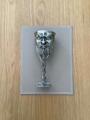 £120 • Buy Royal Selangor Pewter Goblet-SARUMAN-Lord Of The Rings G.Anthony 1996