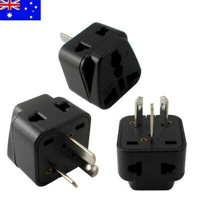 AU5.49 • Buy US EU Universal To AU Australia 3 Pin Plug AC Power Adapter Travel Converter
