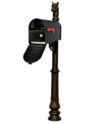 $396.85 • Buy Lewiston Equine Post System With E1 Economy Mailbox And E1 Locking Insert, Mo...