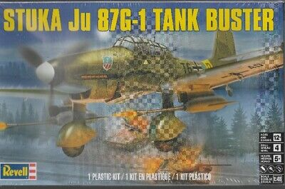 $14.95 • Buy STUKA Ju 87G-1 Tank Buster -Revell Plastic Model Kit - WWII German Plane - 1:48