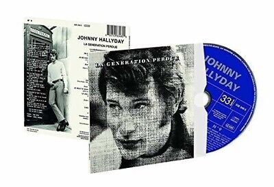 AU43.99 • Buy Johnny Hallyday - La Generation Perdue New Cd