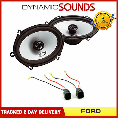 Alpine 5  X 7  Front Door Speaker And Wiring Upgrade Kit For Ford Transit 06-12 • 34.95£