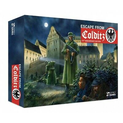 Escape From Colditz 75th Anniversary Edition Board Game • 50.49£