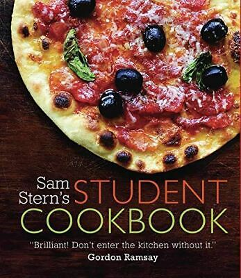 Sam Stern, Sam Stern's Student Cookbook: Survive In Style On A Budget, Like New, • 3.79£