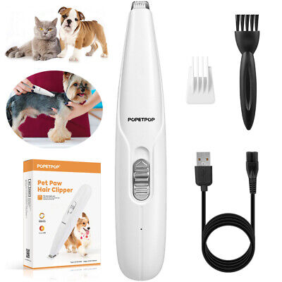 POPETPOP Pet Cutter Shaver Clipper Remover For Dog Cat Paw Ear Eyes Around Hair • 5.99£