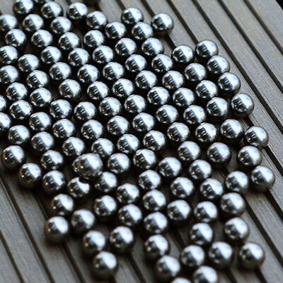 AU16.49 • Buy 200pcs Rolling Roller Beads Stainless Steel Ball Replacement Bicycle Bearing 6mm