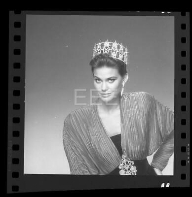 $9.99 • Buy 1988 Courtney Gibbs Miss USA Beauty Pageant Harry Langdon Negative W/rights H87