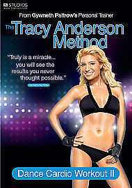 The Tracy Anderson Method - Dance Cardio Workout 2 (DVD, 2011) • 2.99£