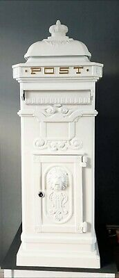 £30 • Buy FOR  HIRE ONLY ... Victorian Style Post / Letter Box 1 Metre / 3 Feet Tall  /