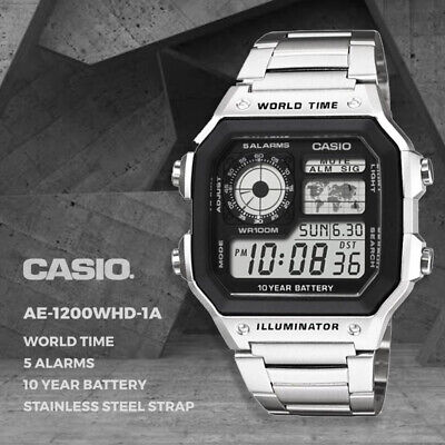 AU69 • Buy Casio Genuine AE-1200WHD-1A Digital Quartz Men's Watch Sport FREE AU SHIPPING