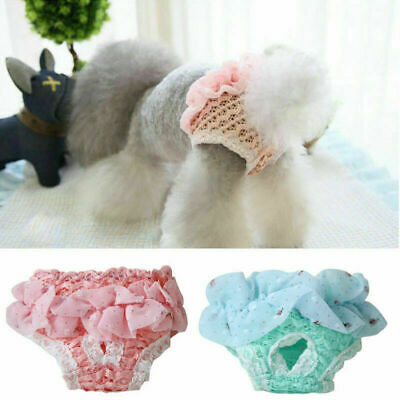 Female Pet Dogs Puppy Washable Physiological Sanitary Pant Travel Diaper Nappy • 3.59£