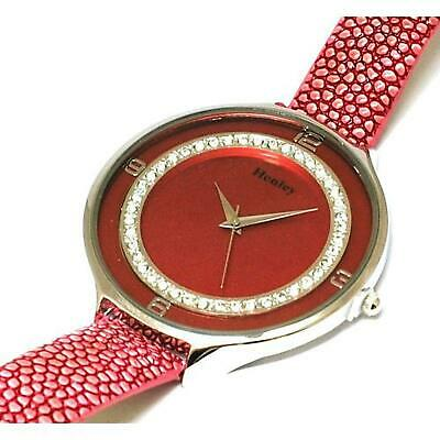 £15.95 • Buy Henley Glamour Ice Diamante Crystal Pink Strap Ladies Fashion Watch H06030.5