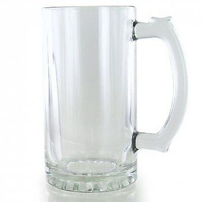 Personalised Engraved Glass Tankard Birthday 18th 21st 30th In Silk Lined Box RH • 10.99£
