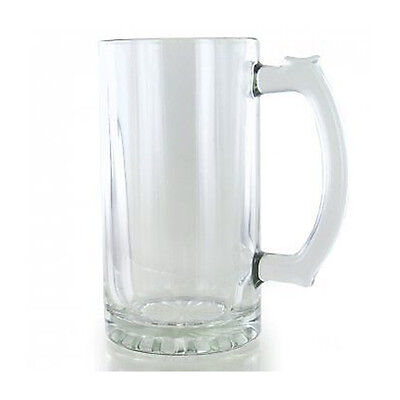 Personalised Engraved Glass Tankard Birthday 18th 21st 30th  In Blue Gift Box RH • 11.99£